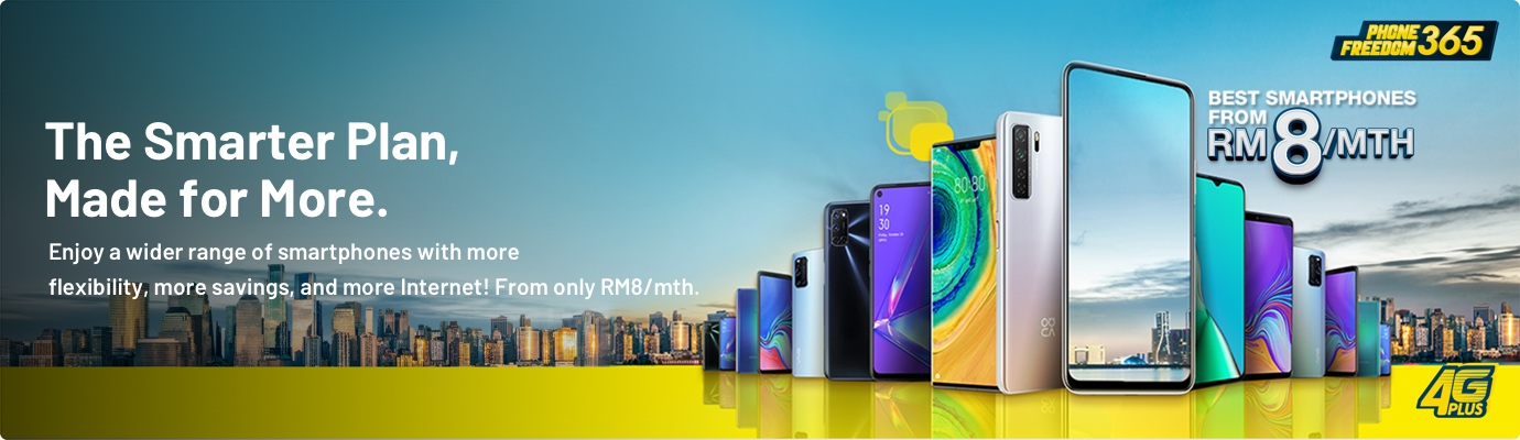 Own The Latest Smartphones With Phone Freedom 365 Installment Plan | Digi