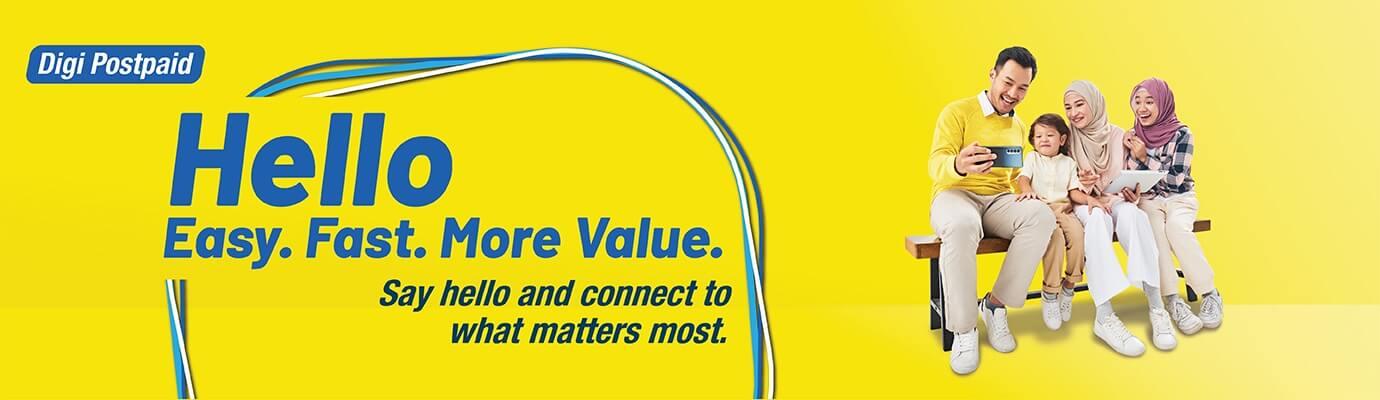 Digi Postpaid. Hello Bigger Savings. Enjoy savings on plan, Internet, entertainment & more with add-on deals.
