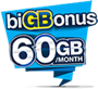 biGBonus RM35 Valid for 30 days