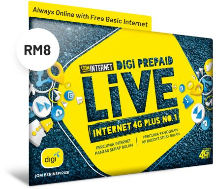 Digi prepaid LiVE | Best Prepaid Plan Malaysia