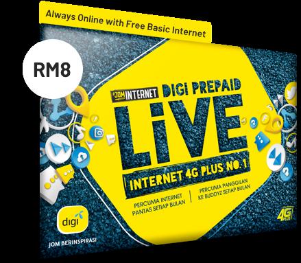 Prepaid Plans | Digi - Let's Inspire