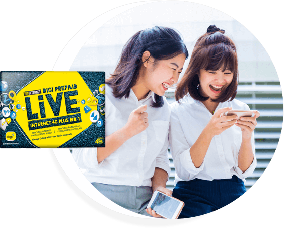 100GB Video & Music Digi Prepaid LiVE