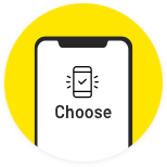 Freedom to choose your smartphone