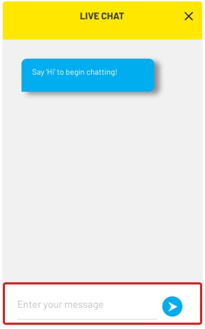 Start your chat with Digi Customer Services.