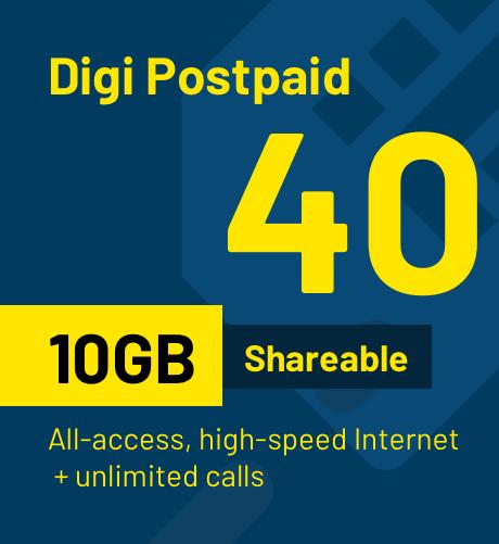 Postpaid 40