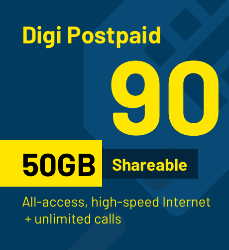 Digi Postpaid 90