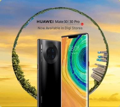 homepage Huawei Mate 30 Series Pre-order