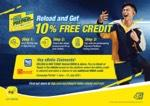 Get up to 10% FREE credit when you reload digitally and eBelia claimants stand to get MORE